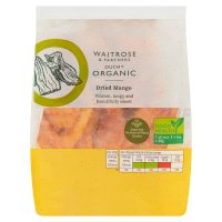 Waitrose LOVE life organic dried mango