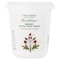 Waitrose Christmas Brandy cream