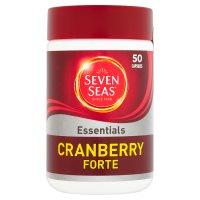 Seven Seas capsules cranberry forté x 50