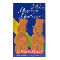 Earl Grey's gingerbread gentlemen biscuits