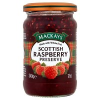 Mackays raspberry preserve