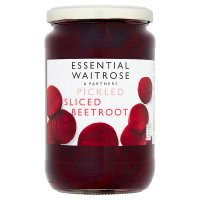 essential Waitrose sliced beetroot
