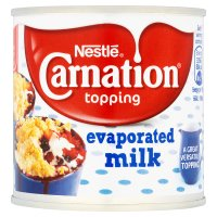 Nestlé Carnation Topping Evaporated Milk 170g