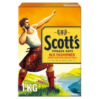 Scott's Oats old fashioned porridge cereal