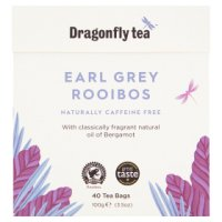 Dragonfly rooibos earl grey caffeine free 40 tea bags&nbsp;image