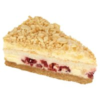 White chocolate, raspberry & Amaretto gateau