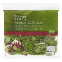 Waitrose organic seasonal salad