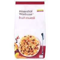 Essential Waitrose - Fruit Muesli
