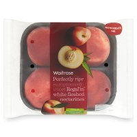 Waitrose Regal'in yellow fleshed nectarines