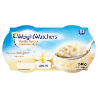 Weight Watchers creamed rice