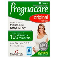 Vitabiotics tablets pregnacare