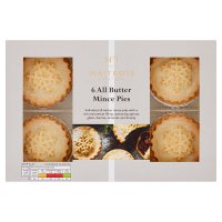 Waitrose all butter mince pies image