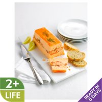 Waitrose layered salmon terrine