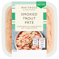 Waitrose smoked trout pâté