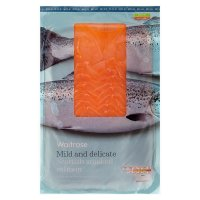 Waitrose Scottish oak smoked salmon minimum 12 slices