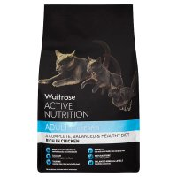 Waitrose active nutrition adult chicken cat food