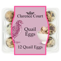 Clarence Court British free to fly quail's eggs