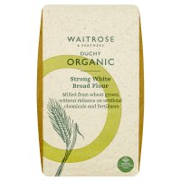 Waitrose organic strong white bread flour image