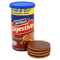 McVitie's Digestives - milk chocolate tube