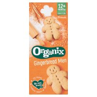 Organix organic goodies 15 gingerbread men