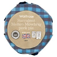 Waitrose Melton Mowbray large pork pie image