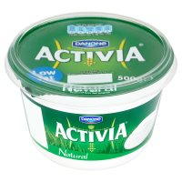 Activia natural yogurt