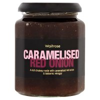 Waitrose caramelised red onion chutney