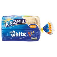 Kingsmill everyday white medium sliced bread
