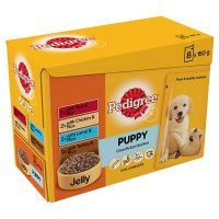 Pedigree puppy pouch selection