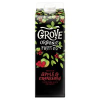 Grove Fresh organic pure apple & cranberry