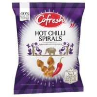 Cofresh potato spirals chilli flavour