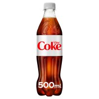 Diet Coke plastic bottle