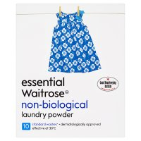 essential Waitrose non-biological powder 10 washes