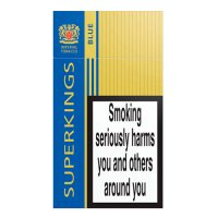 Superkings blue cigarettes