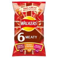 Walkers meaty variety multipack crisps