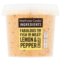 Waitrose Cooks' Ingredients lemon & pepper crust image