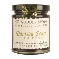 The Wooden Spoon damson sauce & port
