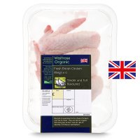 Waitrose Organic Free Range British chicken wings