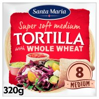 Santa Maria 8 wholemeal tortillas