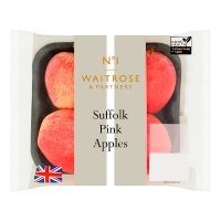 Waitrose Suffolk Pink Apples traypack