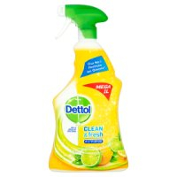 Dettol green apple all in1 multi-action cleaner spray