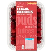 Waitrose frozen cranberries
