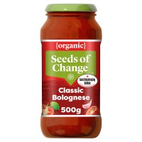Seeds of Change organic bolognese pasta sauce