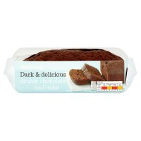 Waitrose double chocolate loaf cake