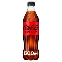 Coca-Cola Zero plastic bottle