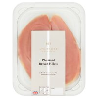 Waitrose pheasant breast fillets