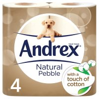 Andrex Natural Pebble Toilet Rolls