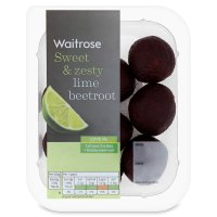Waitrose lime zest infused baby beetroot