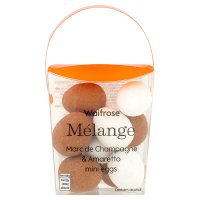 Waitrose Marc de Champ & Amaretto mini eggs