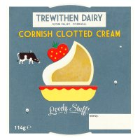 Trewithen clotted cream Cornish